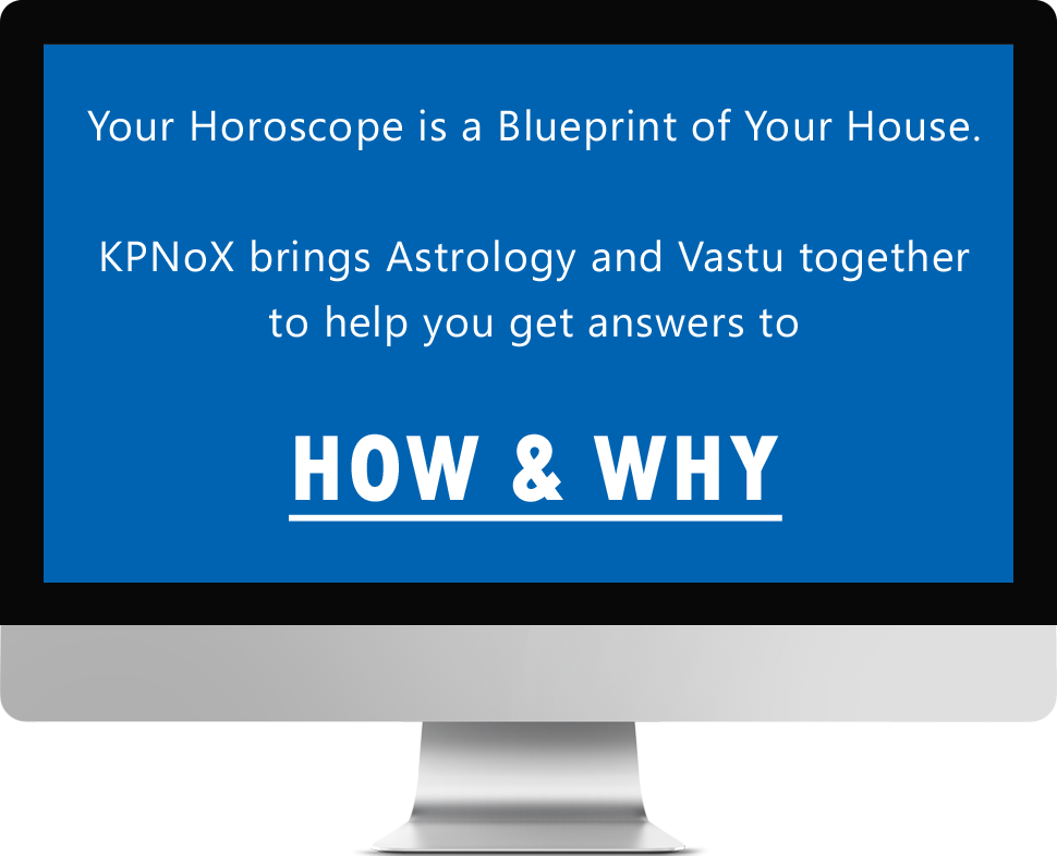 Your Horoscope is a Blueprint of your House